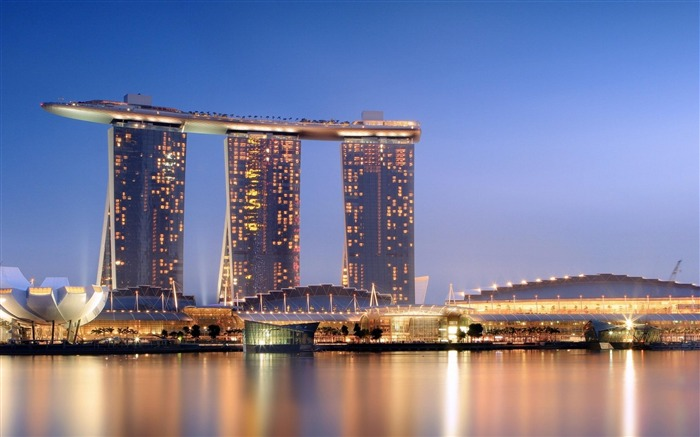 marina bay sands-city architecture wallpaper Views:18180