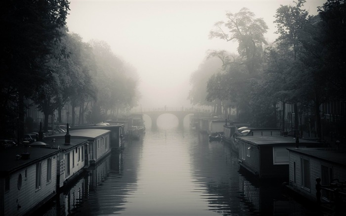 misty amsterdam autumn-Netherlands Landscape Wallpaper Views:12513 Date:5/21/2012 10:18:38 PM