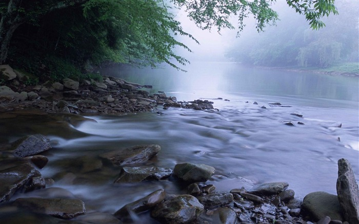 scenic river-Landscape photography wallpaper Views:3904