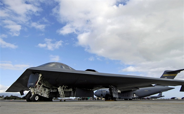 stealth bomber-Military aircraft wallpaper Views:11876