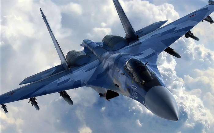 su35 sukhoi-Military aircraft wallpaper Views:30154