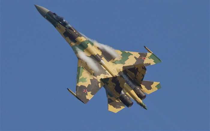 su35 sukhoi MAKS2011-Military aircraft wallpaper Views:6046
