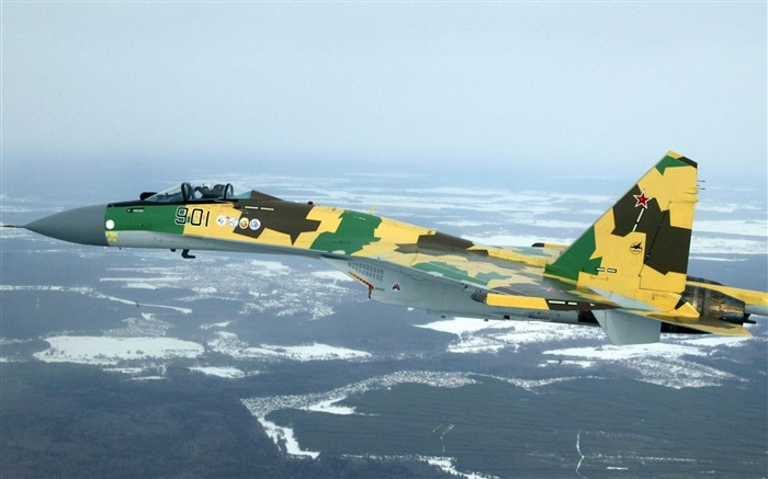 su35 sukhoi russian-Military aircraft wallpaper Views:9763