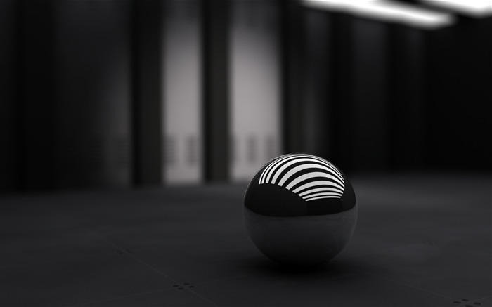 3d black ball-Abstract Design wallpaper Views:23828 Date:6/13/2012 7:23:44 AM