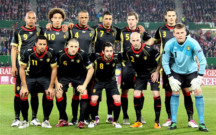 Belgium soccer team-Euro 2012 wallpaper Views:12164