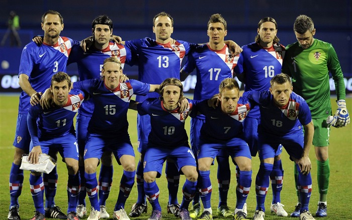 Croatia soccer team-Euro 2012 wallpaper Views:18003