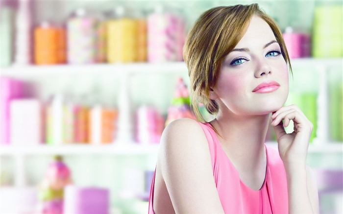 Emma Stone beautiful actress wallpaper Views:18404