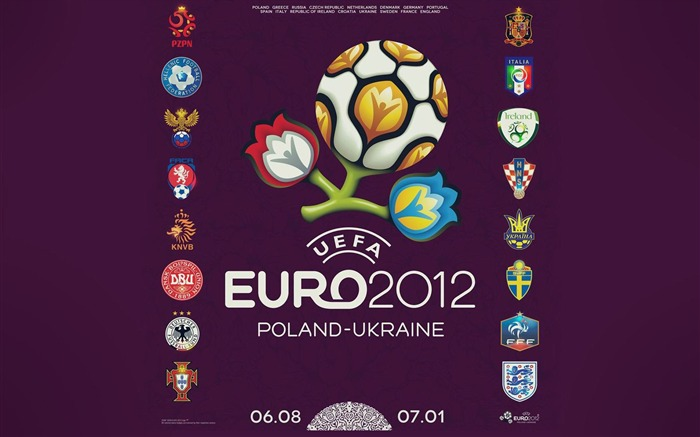 Euro 2012 HD desktop wallpaper Views:17866