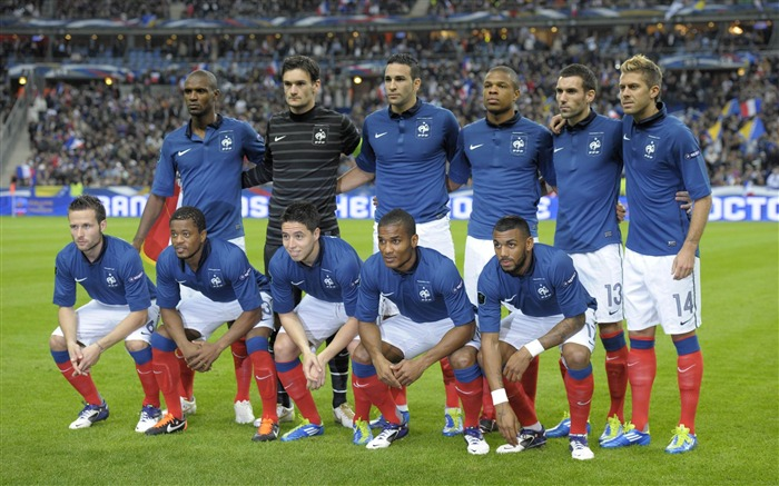 France soccer team-Euro 2012 wallpaper Views:23291