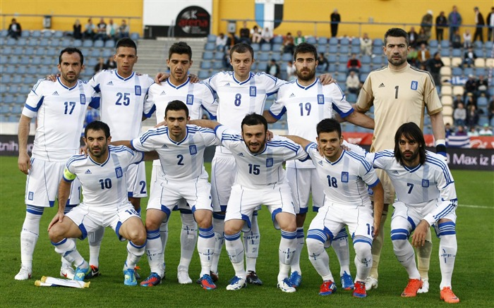Greece soccer team-Euro 2012 wallpaper Views:16284