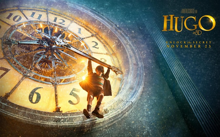 Hugo HD Movie Desktop Wallpaper Vistas:11662