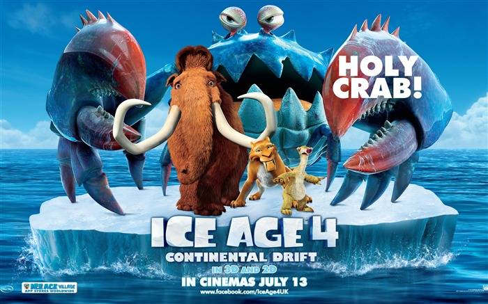 Ice Age 4-Continental Drift Movie HD Wallpaper Views:7097