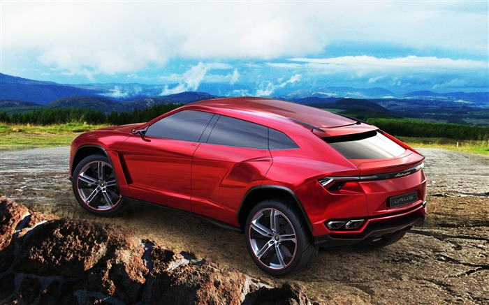 Lamborghini Urus Concept Auto Car Wallpaper Views:6901