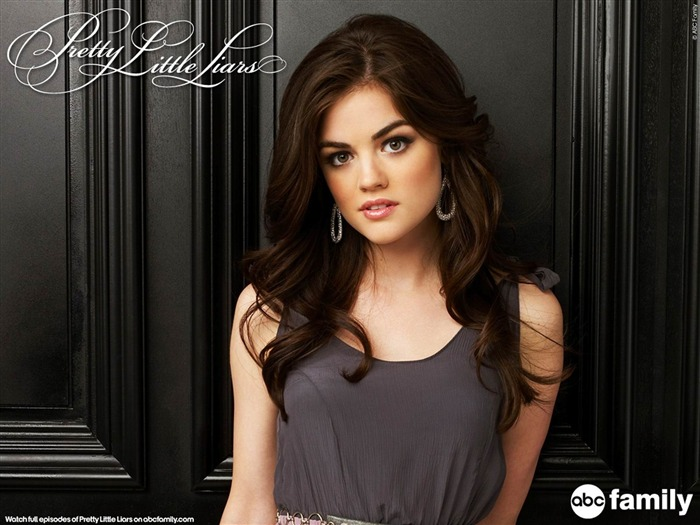 Lucy Hale-Pretty Little Liars Wallpaper 04 Views:9353