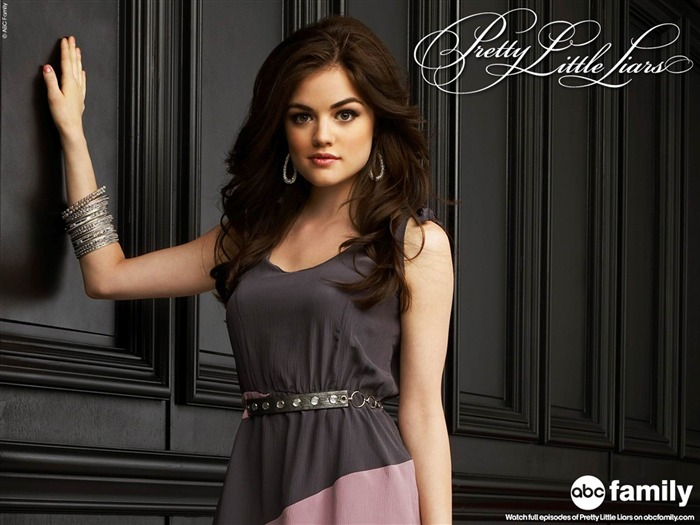 Lucy Hale-Pretty Little Liars Wallpaper 05 Views:15897