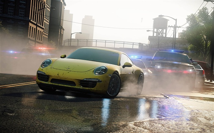Need for Speed-Most Wanted Game HD Wallpaper 03 Views:9326