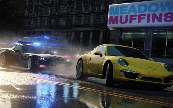 Need for Speed-Most Wanted Game HD Wallpaper 04 Views:11390