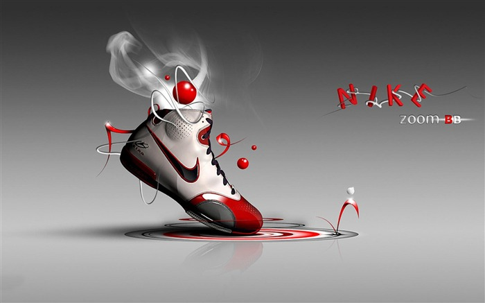 Nike zoom-Brand advertising wallpaper Views:12351