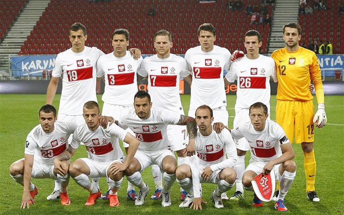 Poland soccer team-Euro 2012 wallpaper Views:7313