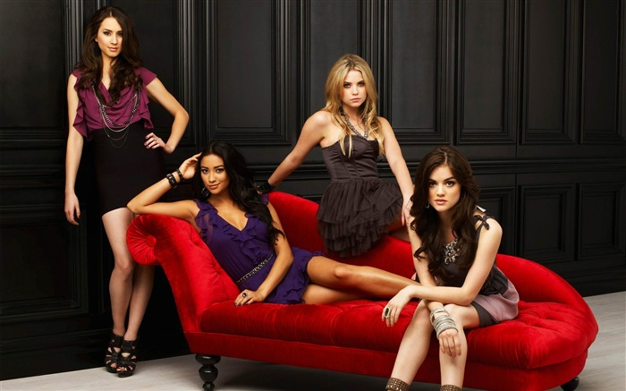 Pretty Little Liars-American TV series Wallpaper Views:15501