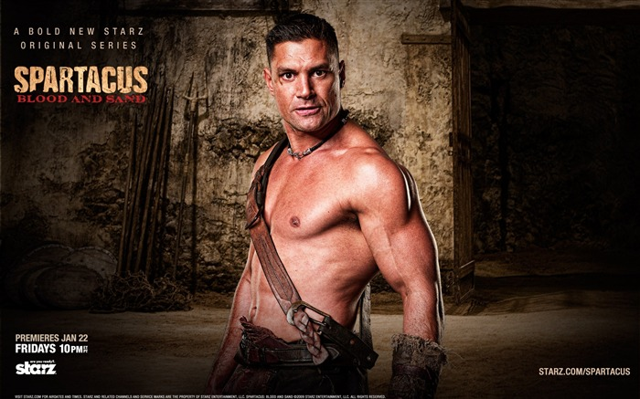 Spartacus-Blood and Sand Movie HD Wallpaper 07 Views:6171