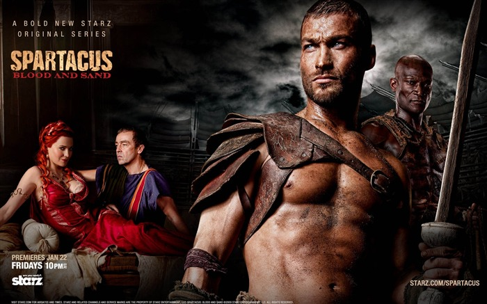 Spartacus-Blood and Sand Movie HD Wallpaper 08 Views:4804