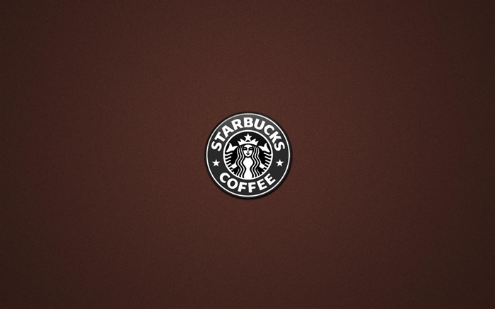 Starbucks logo-Brand advertising wallpaper Views:38476