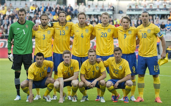 Sweden soccer team-Euro 2012 wallpaper Views:10146