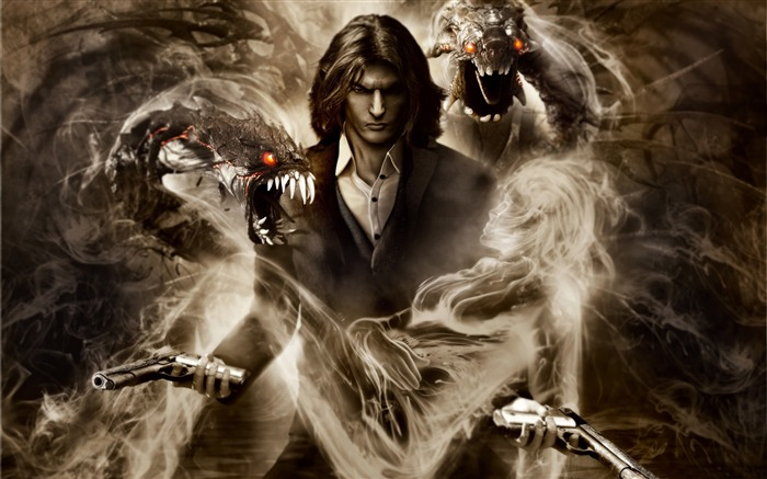 The Darkness 2 Game HD Wallpaper 09 Views:5615