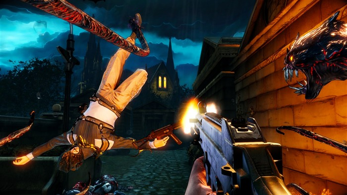 The Darkness 2 Game HD Wallpaper 19 Views:4399