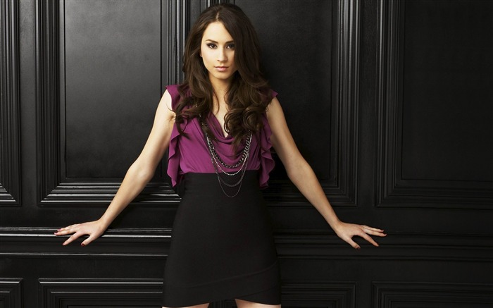 Troian Bellisario-Pretty Little Liars Wallpaper 03 Views:5430