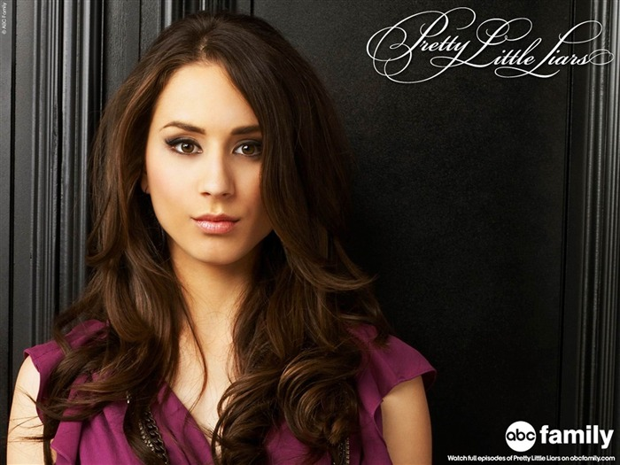 Troian Bellisario-Pretty Little Liars Wallpaper Views:14942
