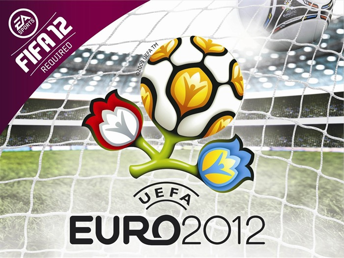 Euro 2012 HD desktop wallpaper Second series Views:14809