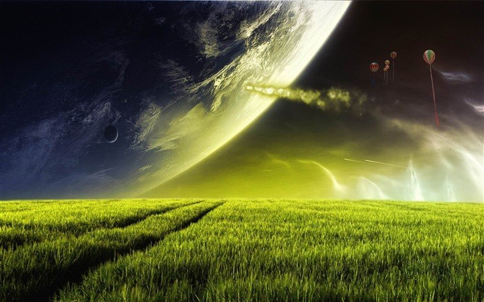 alien planet-Dreamy and Fantasy wallpaper Views:17575