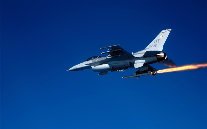 f 16c fighting-Military Aircraft Wallpaper Views:4992