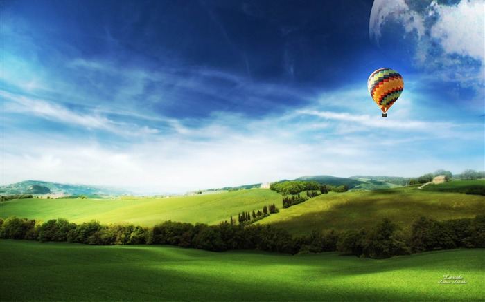 heights of dream-Dreamy and Fantasy wallpaper Views:4658