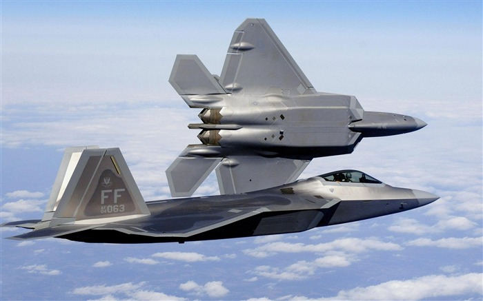 F22A raptor stealth fighter jets-Military aircraft wallpaper Views:18377