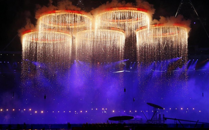 London 2012 Olympics opening ceremony HD Wallpaper Views:17653