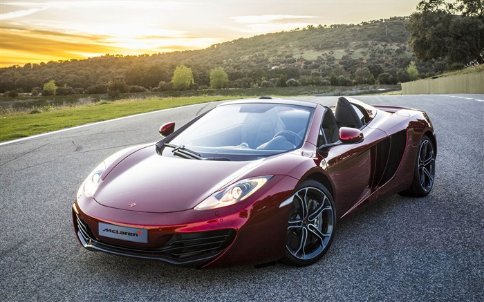 McLaren MP4-12C Spider Auto HD Wallpaper Views:13610