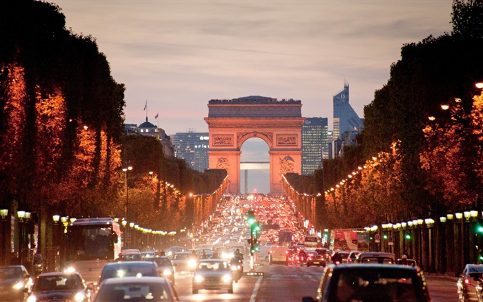 Paris Arc De Triomphe-France landscape wallpaper Views:21996 Date:7/4/2012 7:50:06 PM