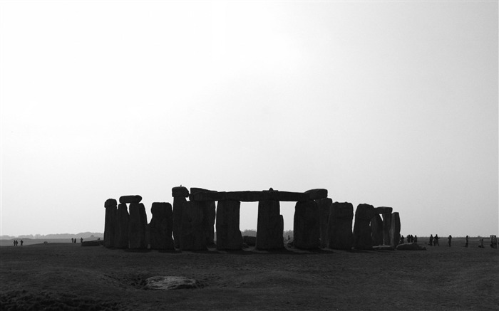 Stonehenge-natural landscape wallpaper Views:4619