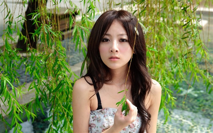 Taiwan beautiful girl MM mika wallpaper sixth series Views:22527