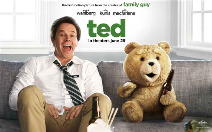 Ted 2012 Movie HD Wallpaper Views:56979