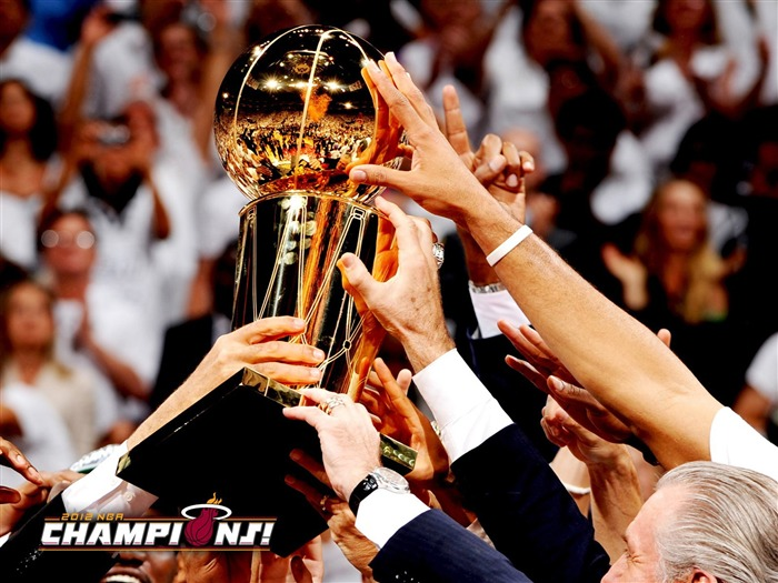 NBA2011-12 Season Champion Miami Heat Wallpapers Views:7636