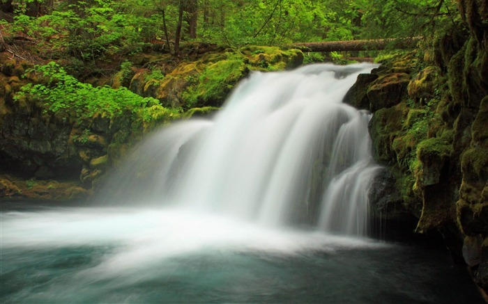 Waterfall United States of America-Nature rivers Landscape Wallpaper Views:6194
