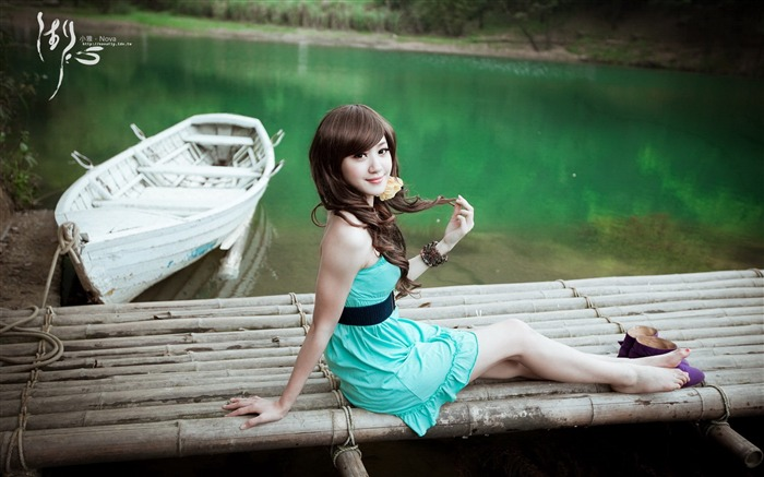 Xiao Ya-lake high-definition photography widescreen wallpaper Views:14832