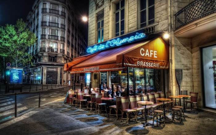 cafe paris-France landscape wallpaper Views:32652 Date:7/4/2012 7:45:22 PM