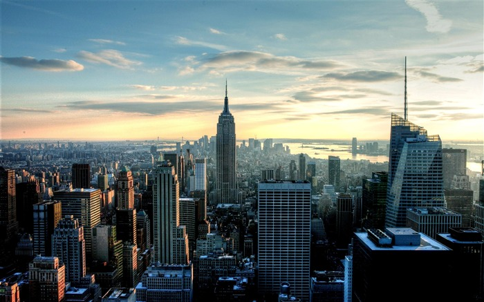 empire state city-City travel landscape wallpaper Views:14949
