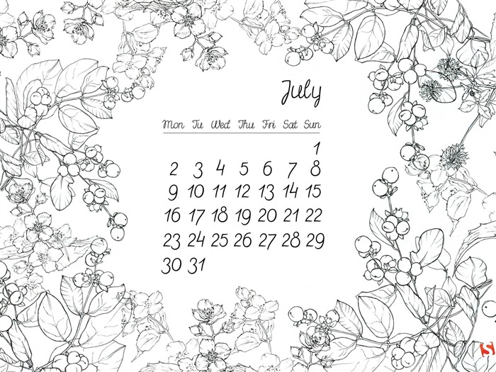 floral thing-July 2012 calendar wallpaper Views:5991 Date:7/1/2012 1:50:38 AM