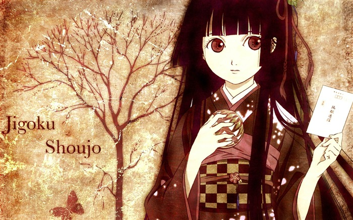 jigoku shoujo-Cartoon characters wallpaper Views:13608
